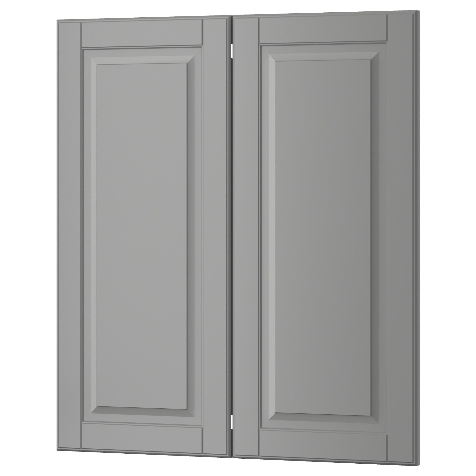 Kitchen Cabinets London Ontario: BODBYN 2-p Door/corner Base Cabinet Set Gray