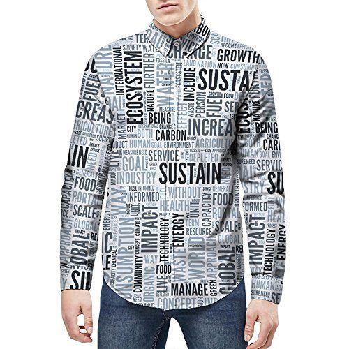 743d5a9e5d0d Ocean Plus Herren Freizeit Langarm Hemd Bunt Muster Freizeithemd mit  Modischem Druck