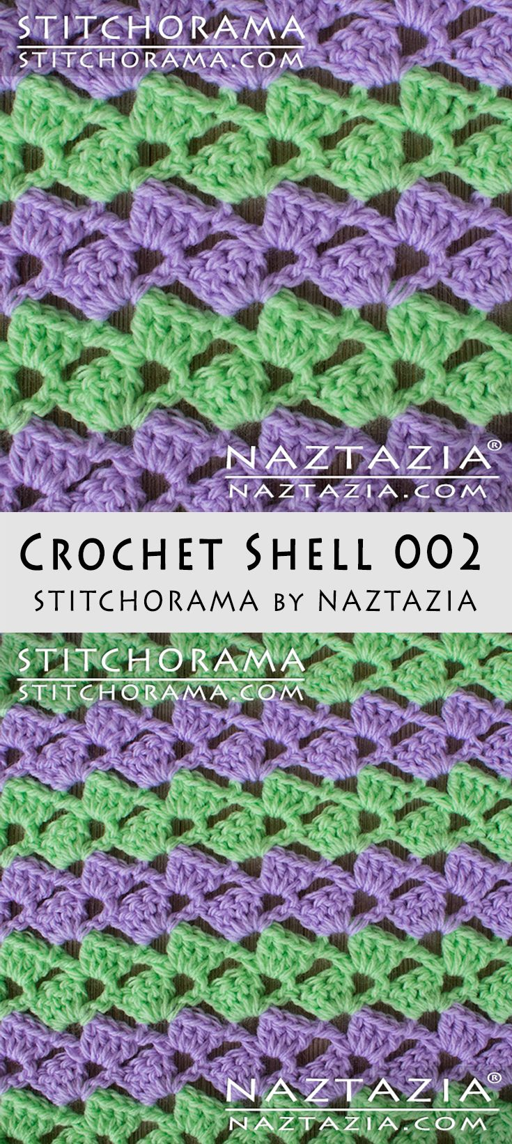 Crochet Shell 002 - Stitchorama by Naztazia | Afghan Crochet ...