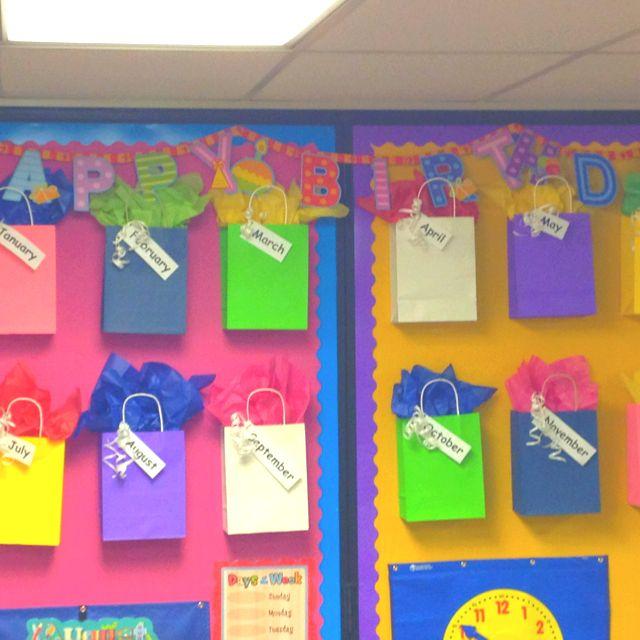 Classroom Wall Ideas : Classroom birthday wall lesson plan ideas pinterest