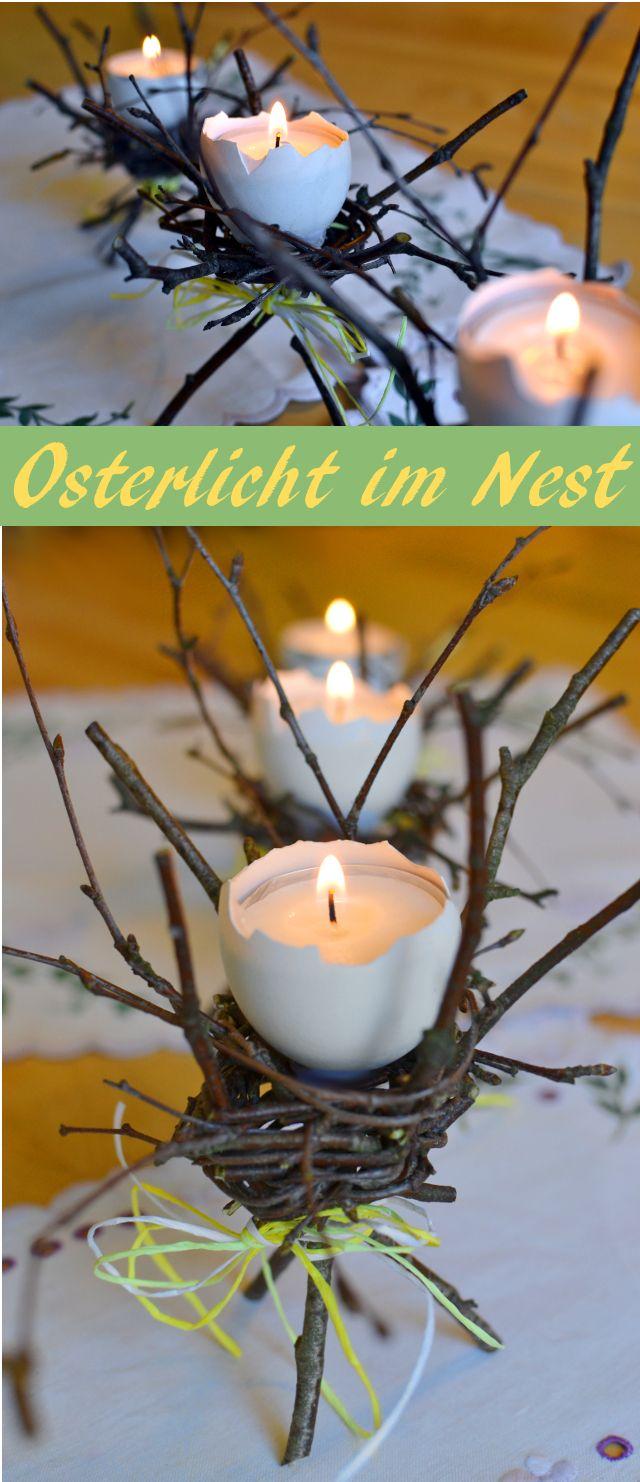 Lampen Aus Papier Basteln Basteln Fruhling Ostern Teelichthalter Basteln Ostereier