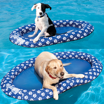 New For 2012 Spring Float Paddle Paws Is Our Pool Float Made Just For Dogs Two Sizes Available Dog Pool Floats Dog Pool Pool Toys
