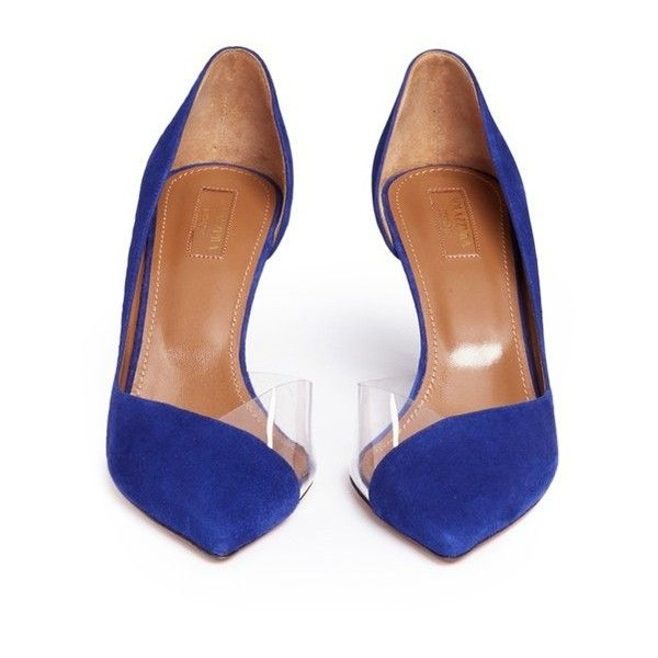Eclipse 75 leather pumps Aquazzura Cheap Discount From China Shop Offer Sale Online w6WYaVH