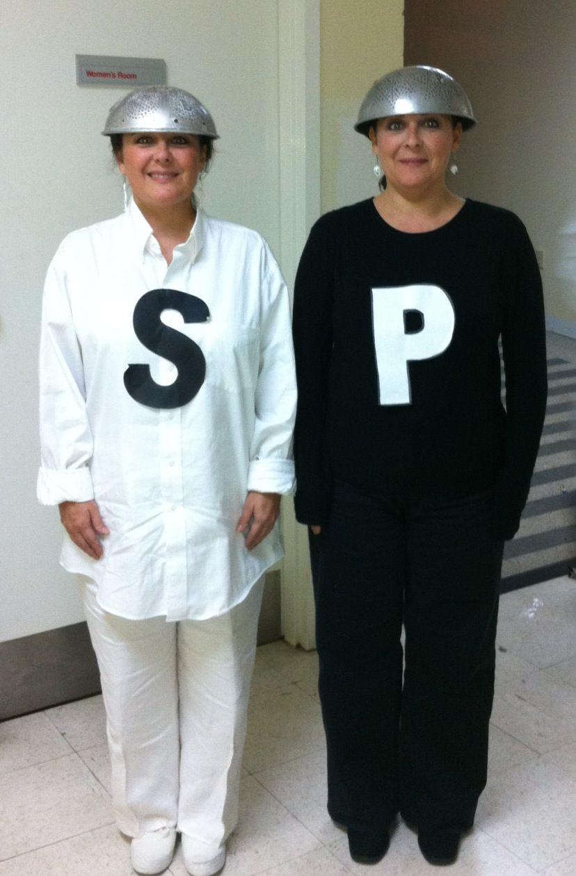 Salt And Pepper Costume Make Diy Halloween