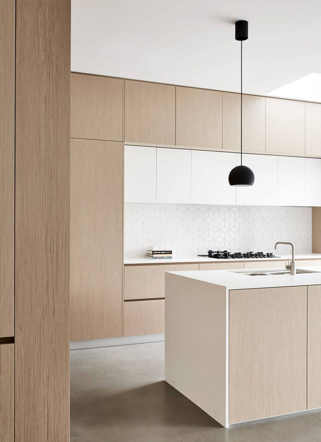 Ideas To Line Kitchen Cabinets remodelproj: Clean line kitchen   polished   remodelproj