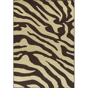 Brown And Cream Zebra Rug Jungalow Style For Kiddos Rugs Area