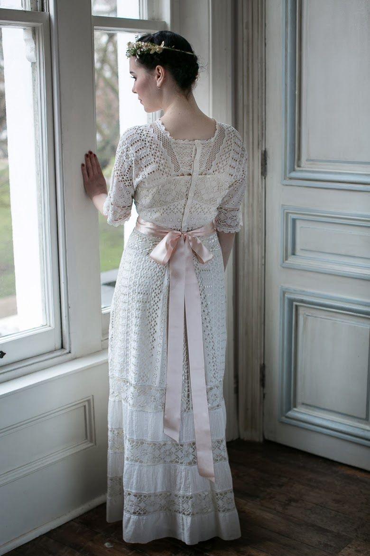 Edwardian wedding dresses c heavenly vintage wedding blog