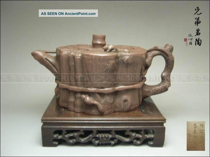 Yixing Zisha Pottery Old Teapot