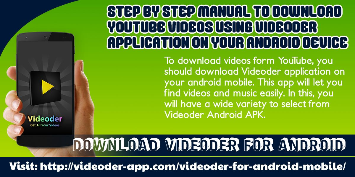 To download videos form YouTube, you should download