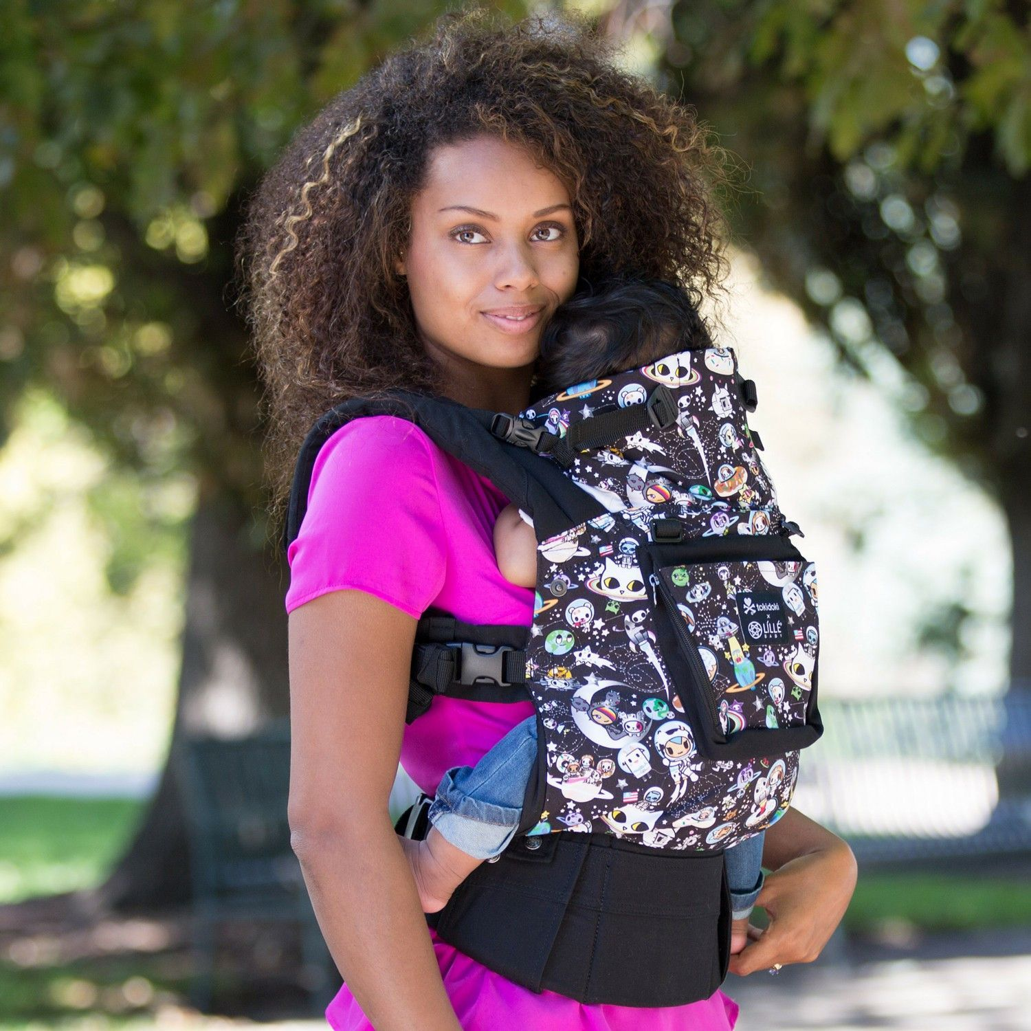Lillebaby Complete Original Baby Carrier - Tokidoki Space (NEW with Pockets)