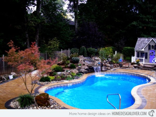 20 Figure 8 Shaped Swimming Pool Designs Home Design Lover