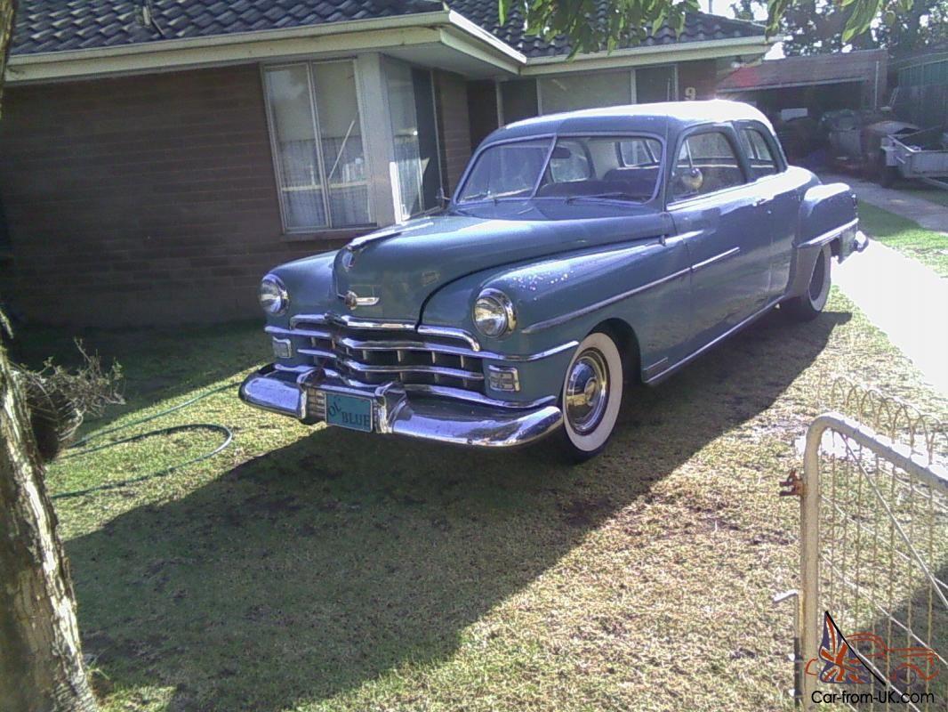1950 Chrysler Windsor Coupe Chrysler Coupe