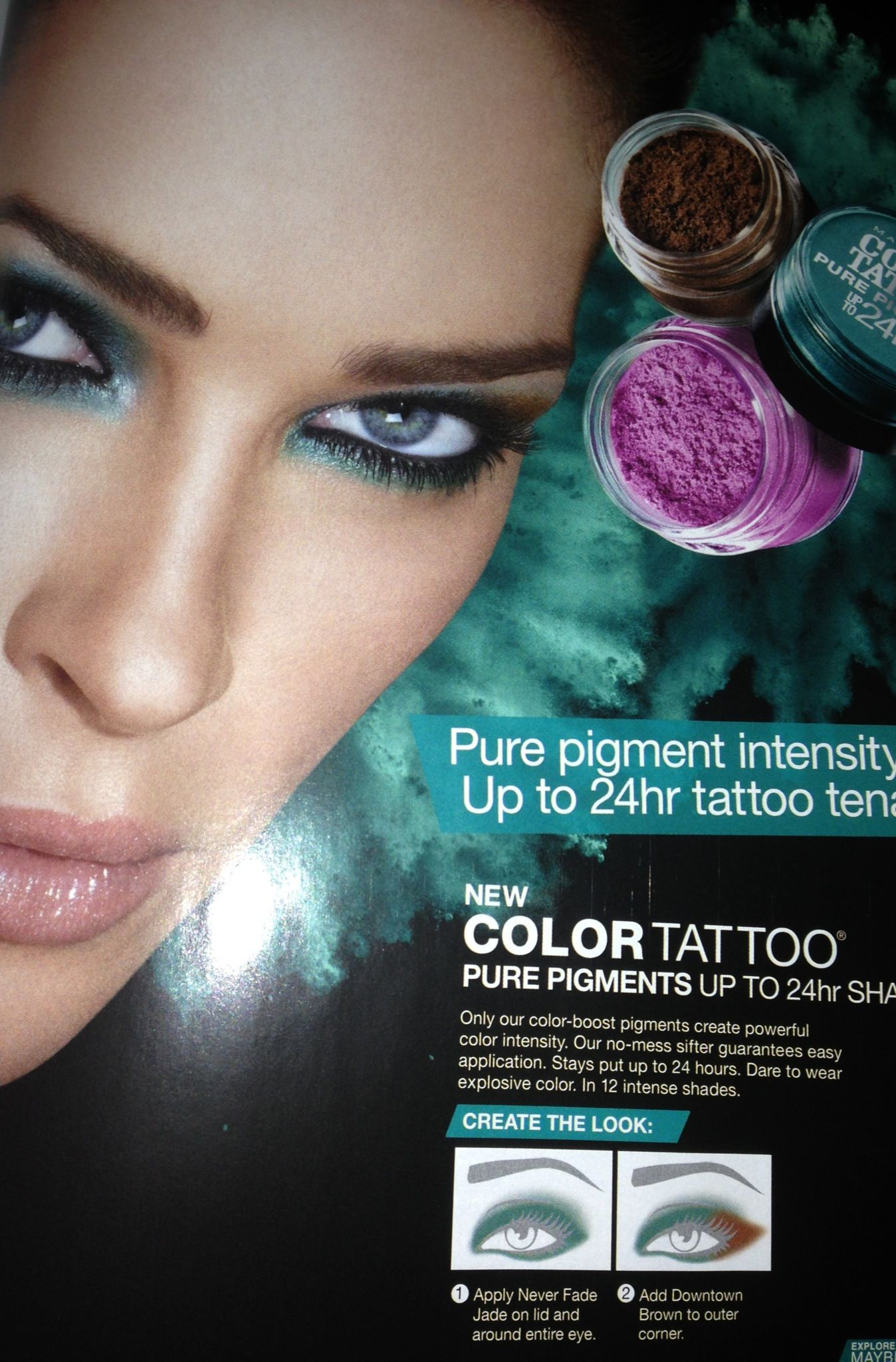 Maybelline Color Tattoo Vibrant Eye Color Makeup How To