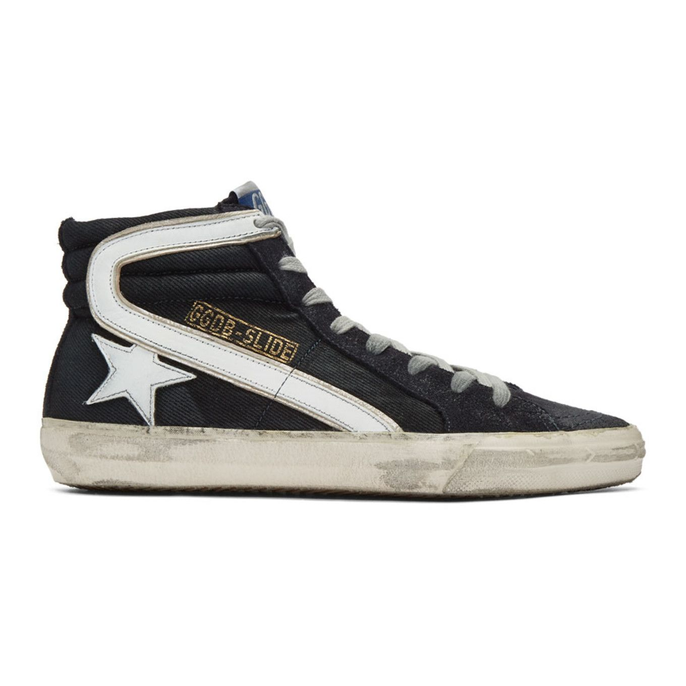 SneakersShoes High Golden Denim Top 2019 Goose Slide Navy In W2eIHE9DY