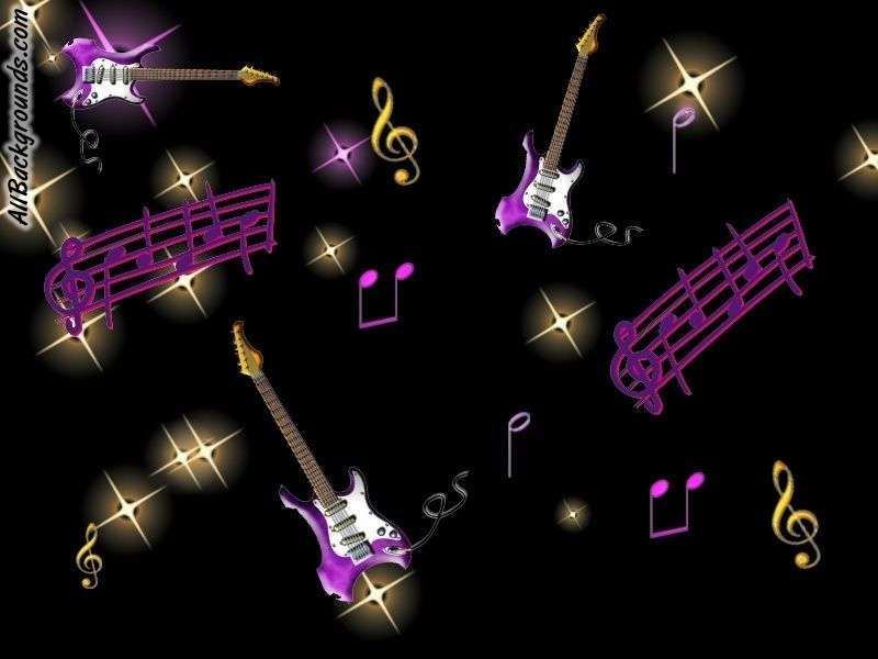 Neon Music Notes Wallpaper: If You Need Cool Music Shapes