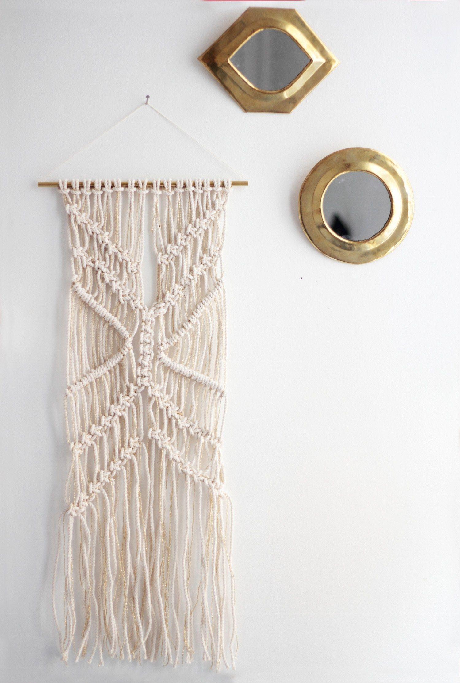 diy macrame gypset h ll blogzine blog deco lifestyle tissage. Black Bedroom Furniture Sets. Home Design Ideas
