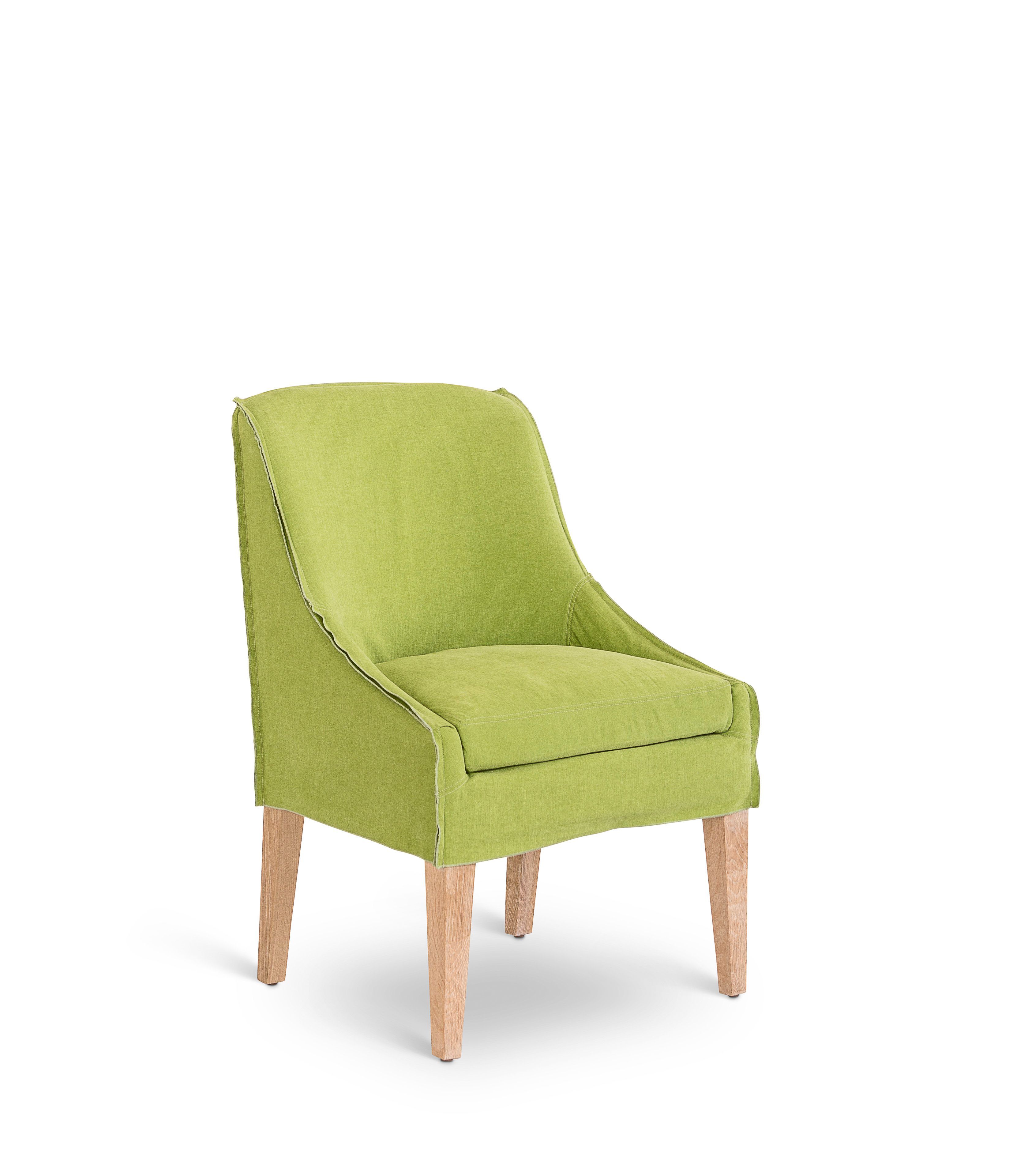 Emily dining chair in sahara cotton