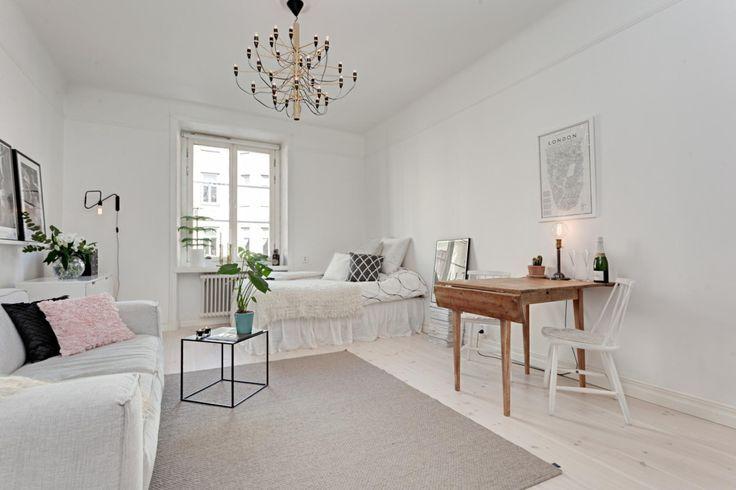 大人女子必見 一人暮らしワンルームレイアウト事例集 Scrap Part 2 Small Room Decor Living Room Interior Interior