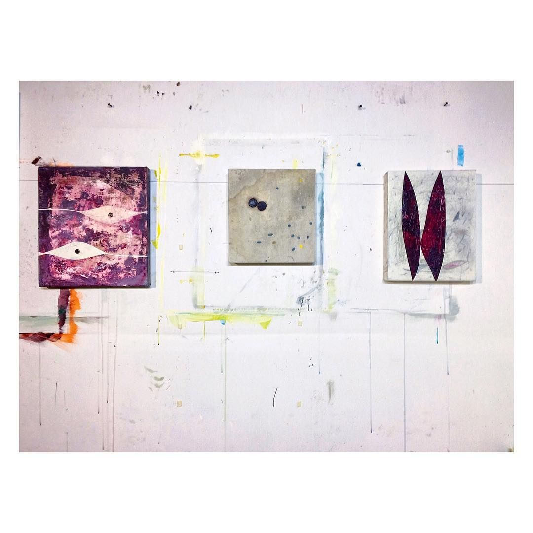 three little ones. • • • painting drawing art studio