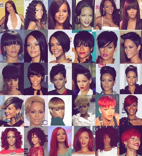 My Hair Hero Rihanna Hairstyles Natural Hair Weaves All Hairstyles