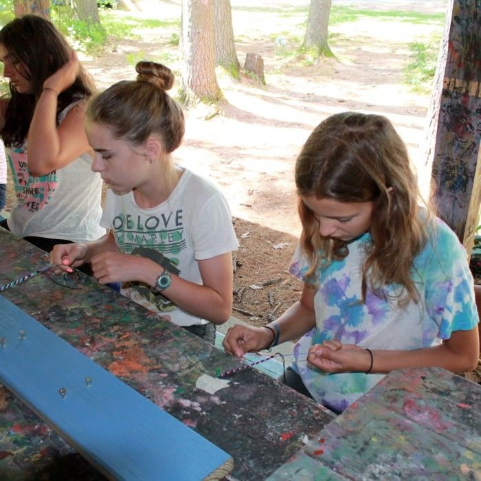 We offer a rich fine arts program that is both creative and diverse and our classes inspire campers to embrace their own creativity. From arts and crafts, music, photography to the performing arts, there is something for everyone. In each class campers are able to express their originality and interests in unique and innovative ways.…