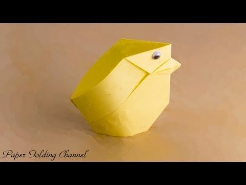 3D ORIGAMI EASTER EGG WITH A STAND. TUTORIAL - YouTube | 360x480
