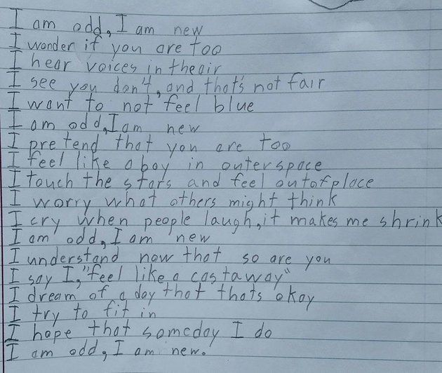 10-Year-Old Boy's Moving Poem Gives A Glimpse At Life With Autism