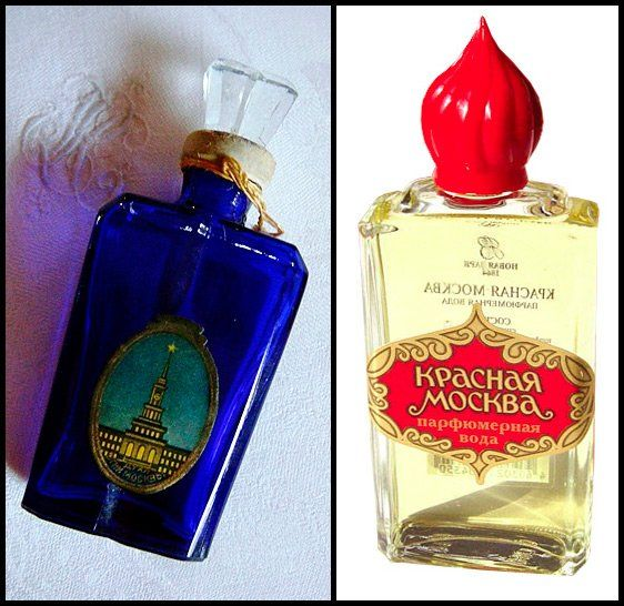 красная москва парфюмерия