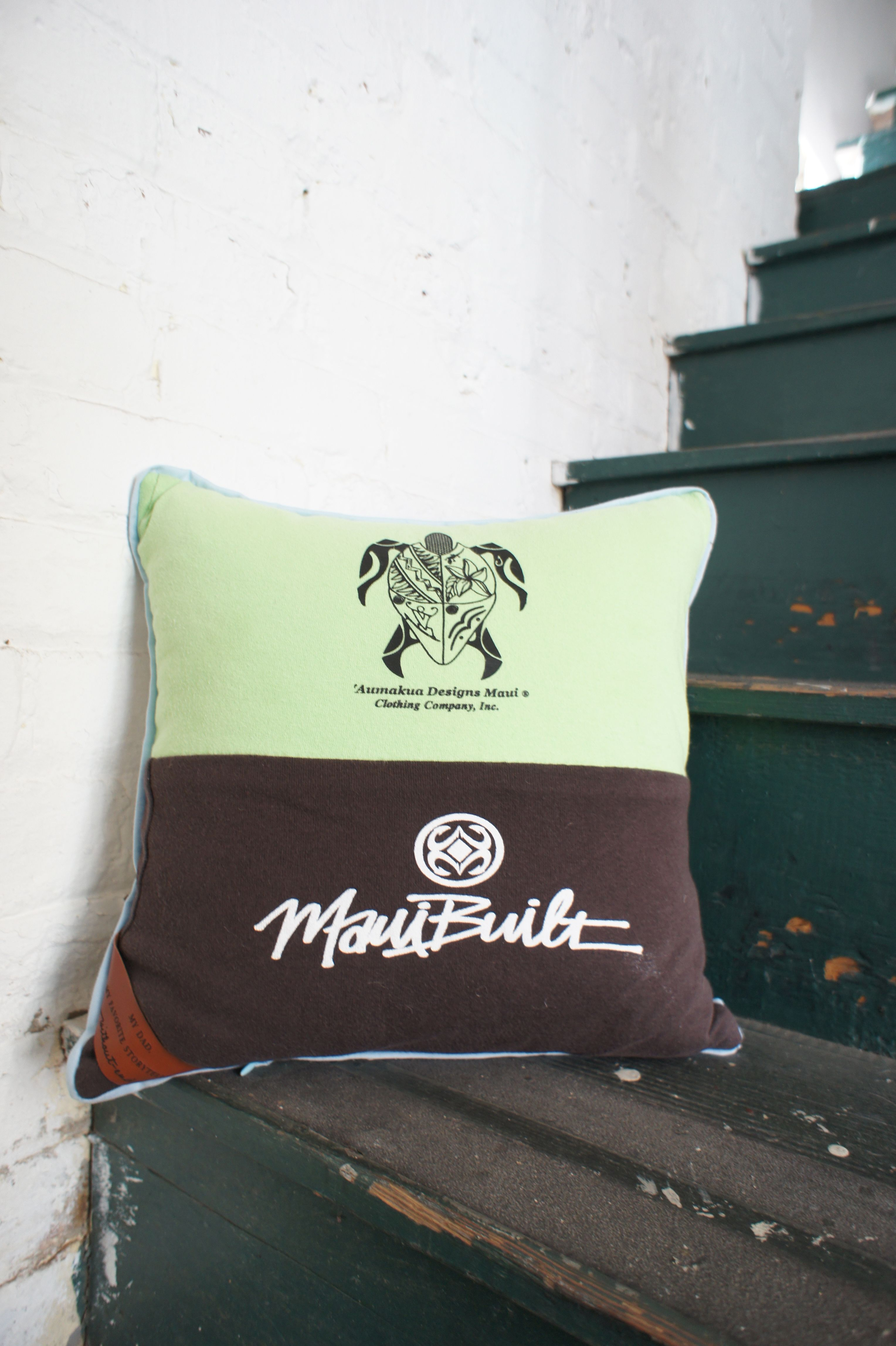 """""""My Dad, My Favorite Storyteller""""  Without-End Custom Pillow"""