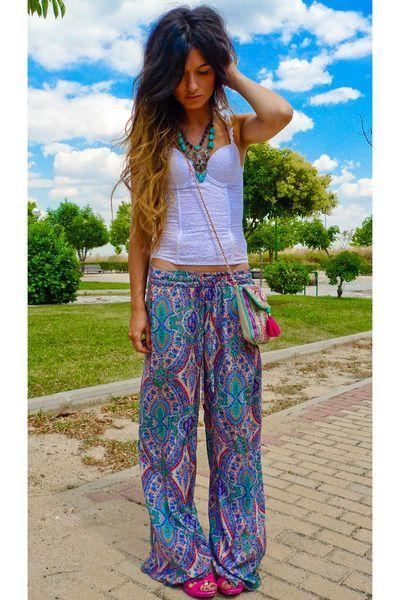 3 hippie pants tumblr my style pinterest hippie
