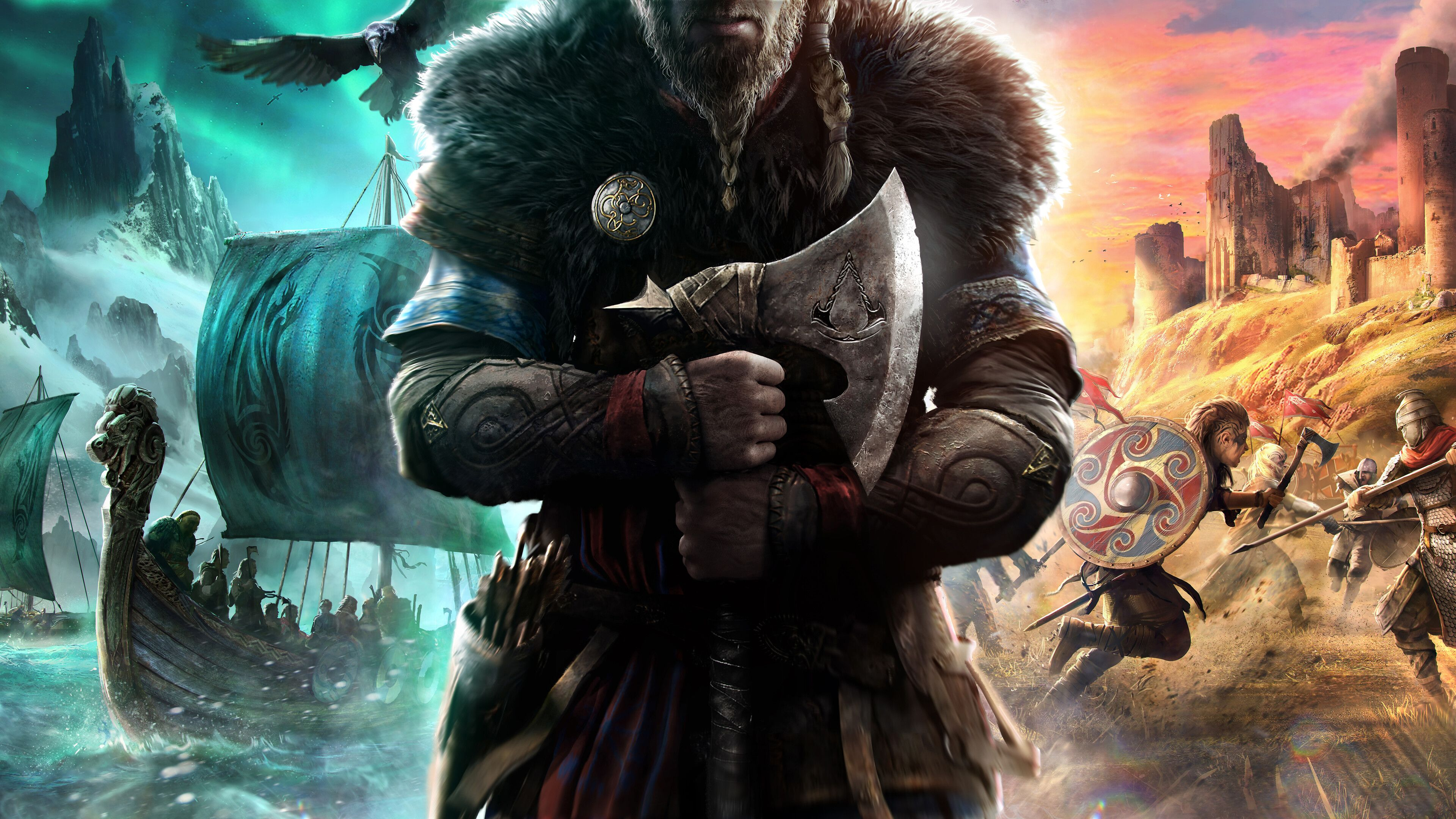 Assassins Creed Valhalla Wallpaper 4k In 2020 Assassins Creed Game Assassin S Creed Wallpaper Assassin S Creed