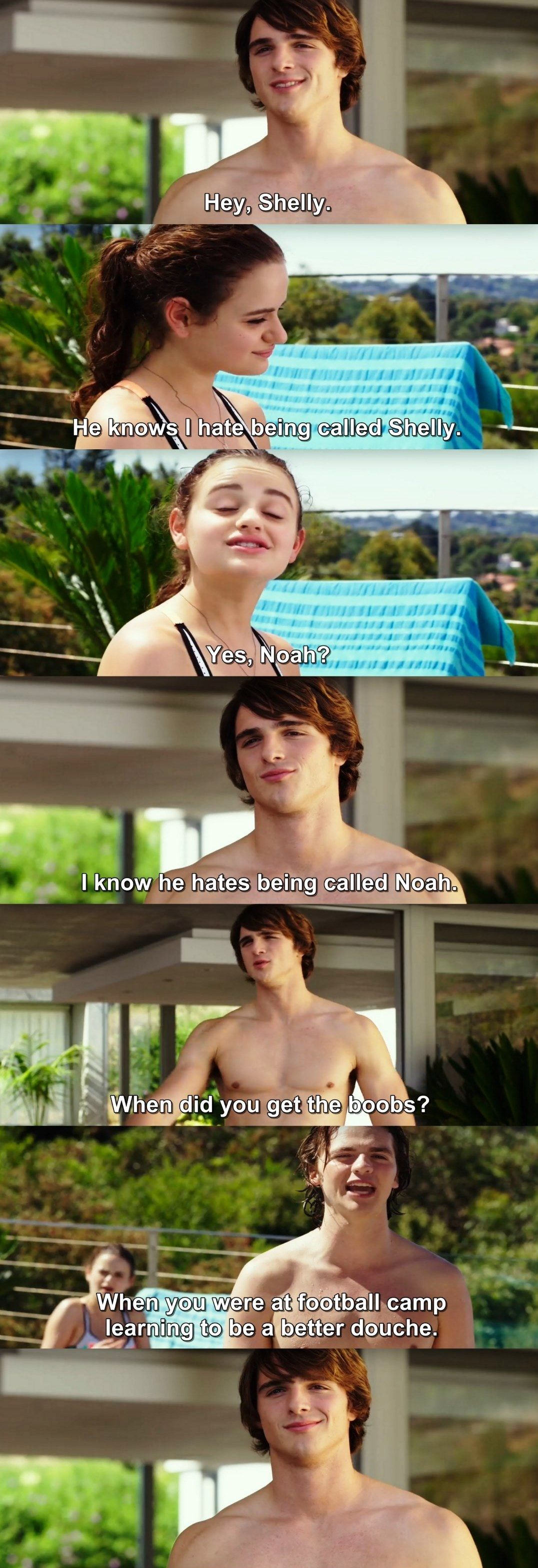 The Kissing Booth is a really good movie the book is terrible but the movie is ❤️🔥