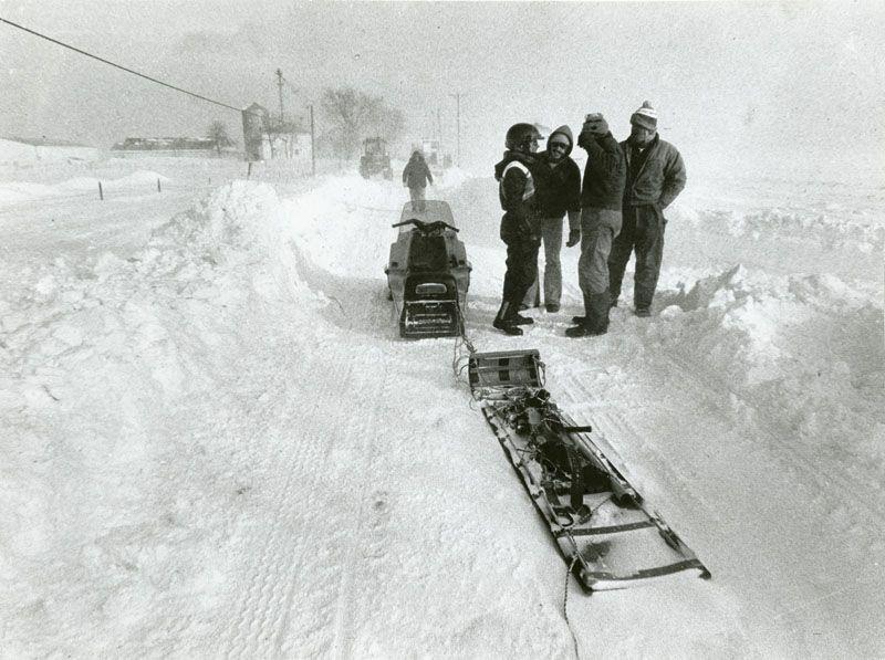 The Great Blizzard of 1978 Louisville kentucky, Dayton