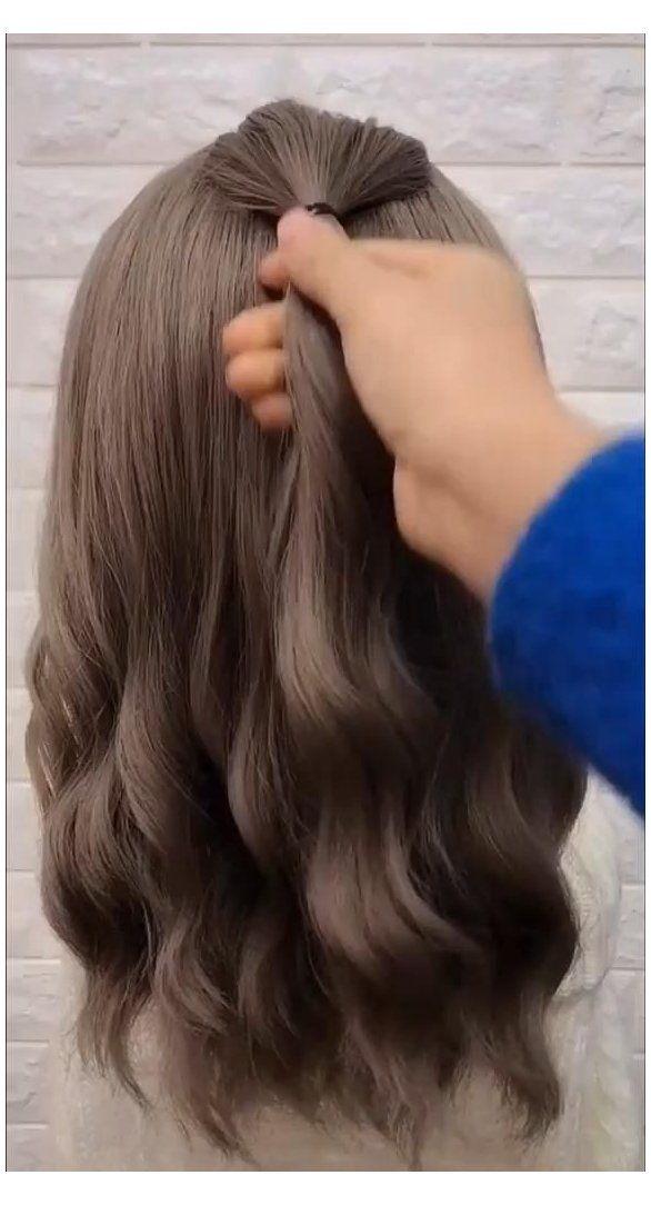 bridesmaid hair updo step by step