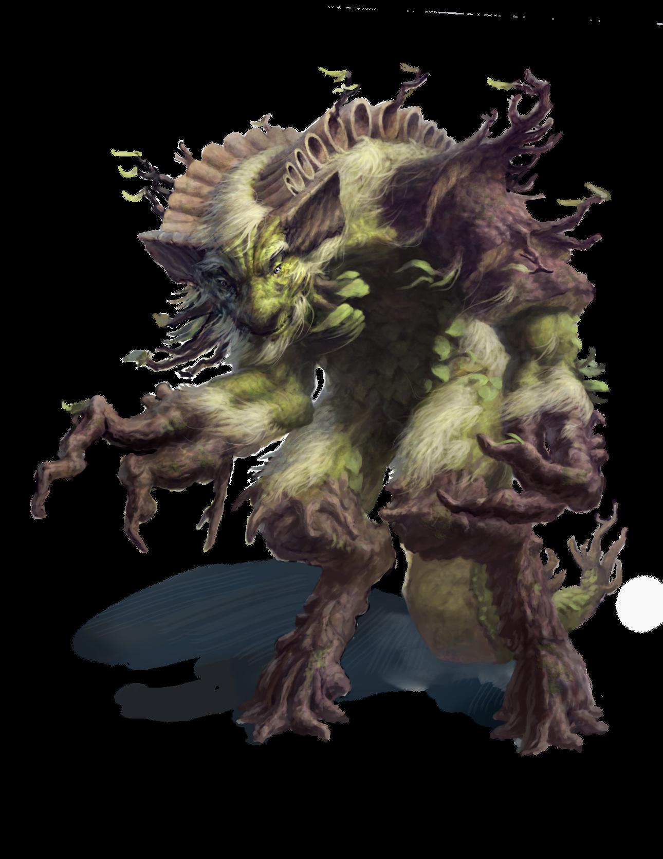 tree/wolf/human hybrid | Anthropomorphic - Plant | Pinterest