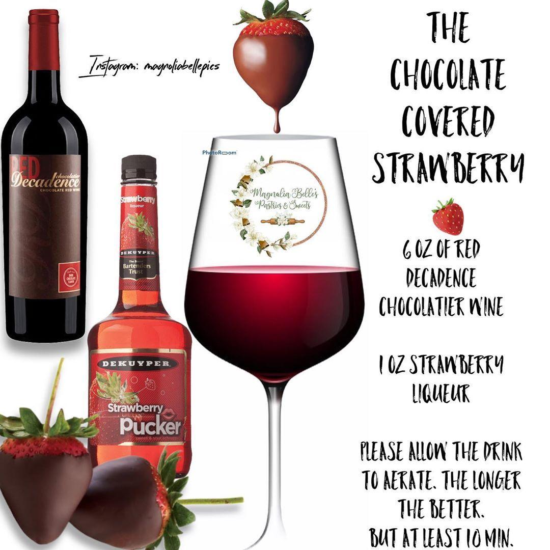 Magnolia Belle On Instagram Magnolia Belle Cocktail Edition In 2020 Chocolatier Wine Cocktails Alcoholic Drinks