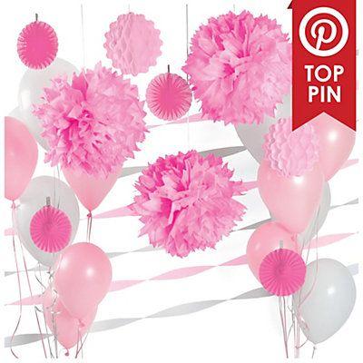 Pink-Baby-Shower-Decoration-Kit 400×400 pixels