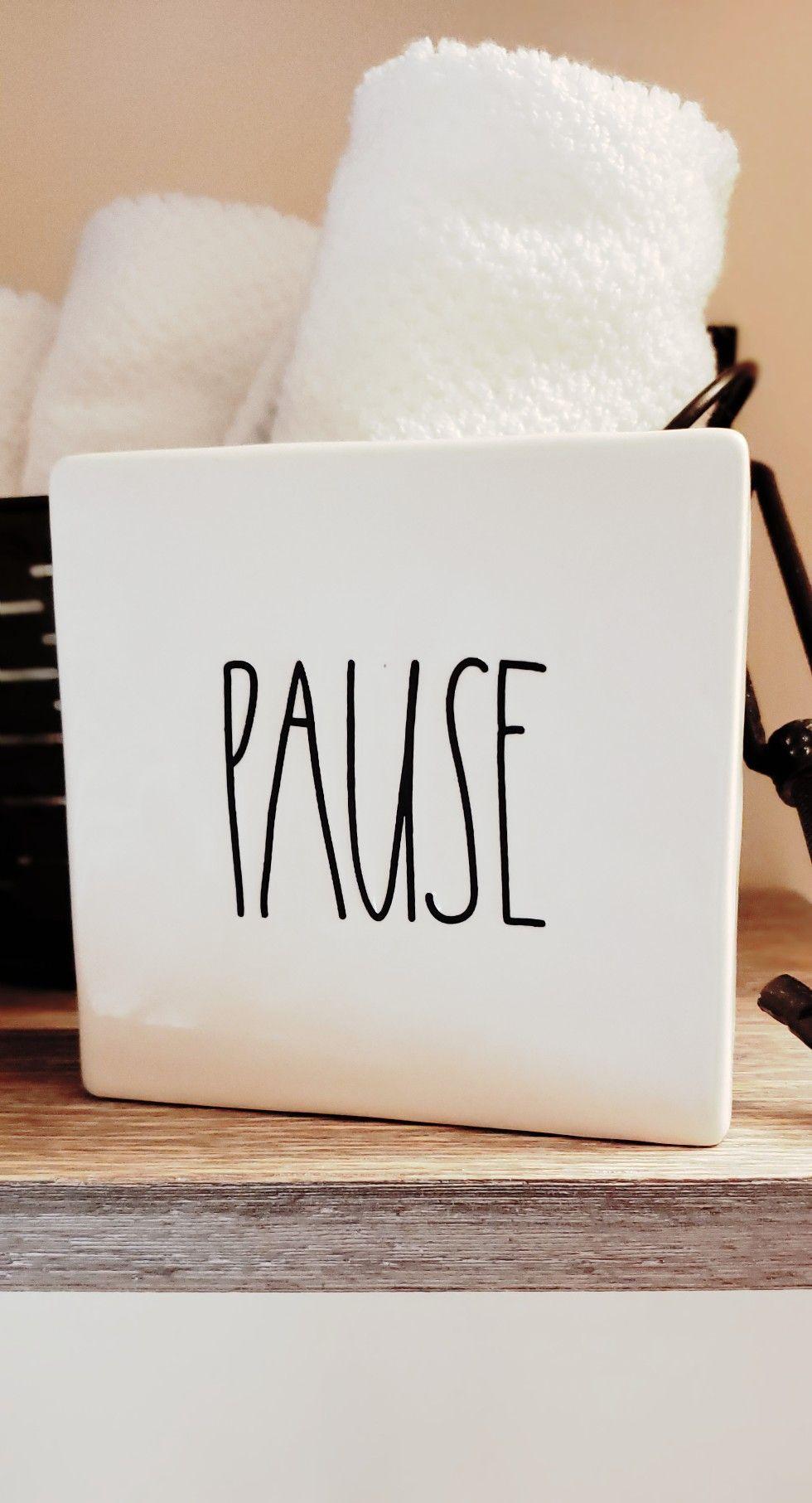 pause breathe repair your universe proceed #raedunn | ♡ Rae Dunn ...
