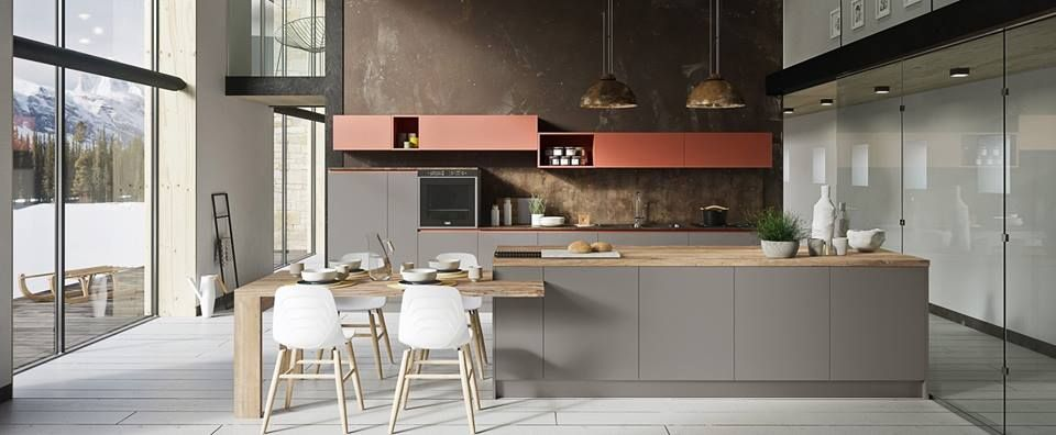 Silkki la nuova cucina di Ar-Tre Cucine è un connubio di ...