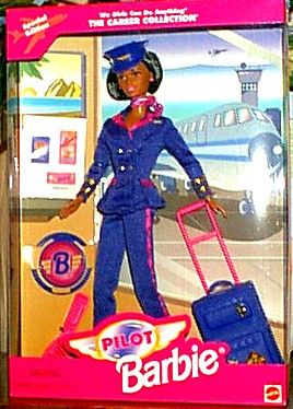 1997 Pilot Barbie from the Career Collection