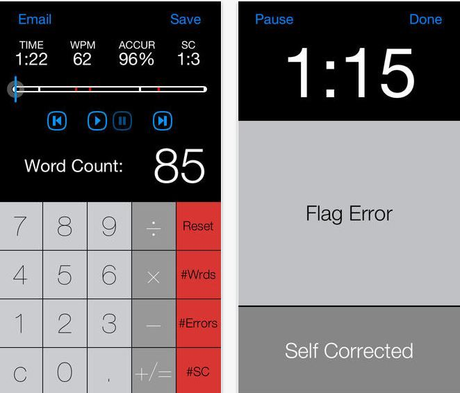 Running Record Calculator | A great time saver app for