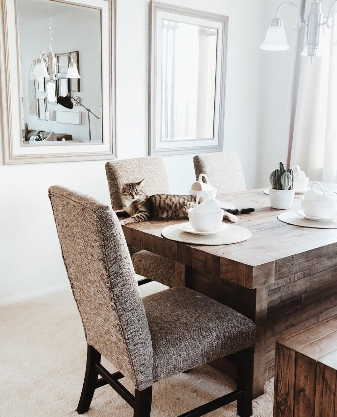 Ashley Furniture Home On Instagram We Go Together Like Our Sommerford Dining Room Table Chair Thanks For Sharing Kerncountryfarmhouse