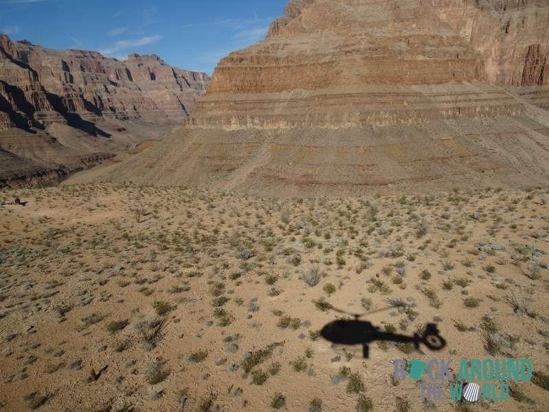 Helikopterrundflug über den Grand Canyon