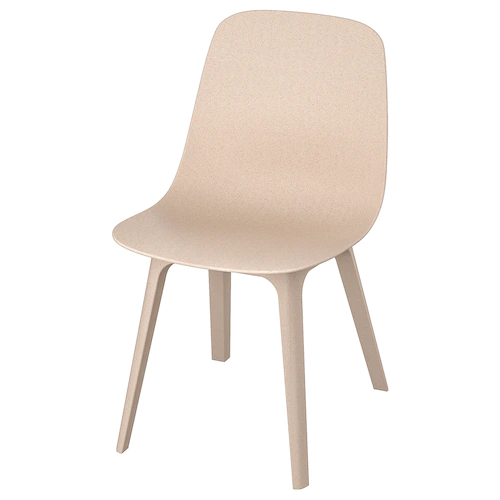Odger Chair White Beige Ikea In 2020 Chair Ikea Dining