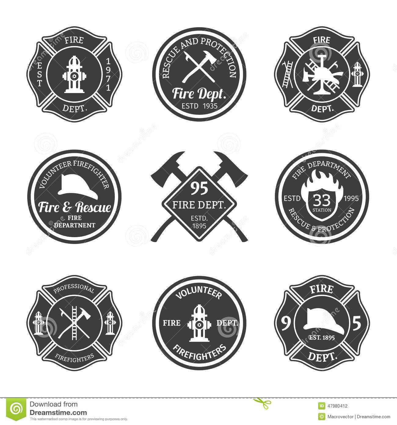 fire maltese cross vector Google Search Firefighter