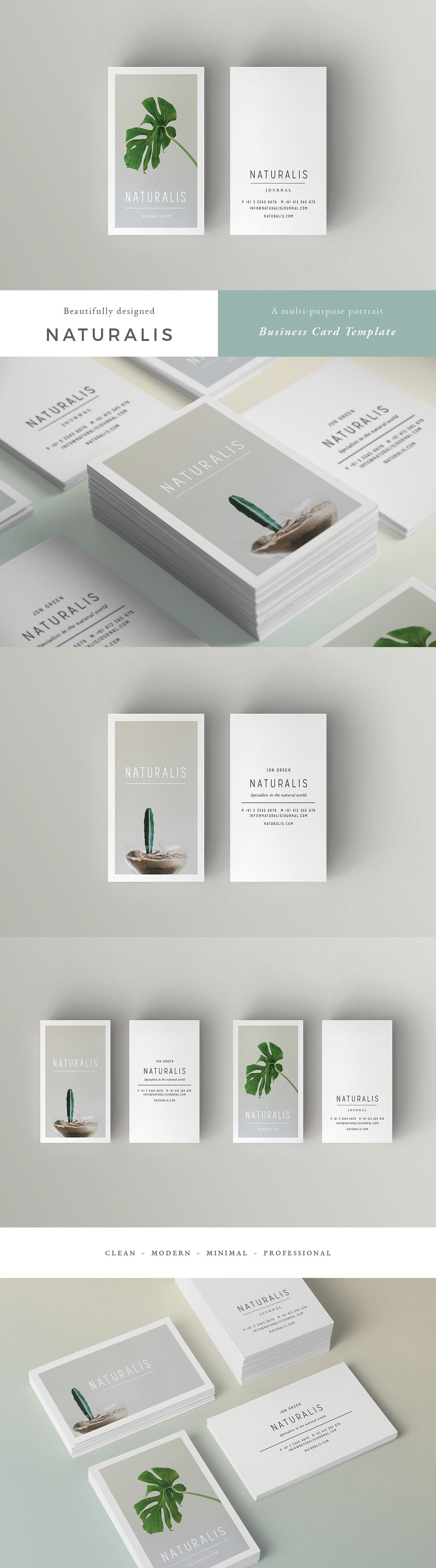 20 Clean and Minimal Business Cards That Stand Out   Card templates ...