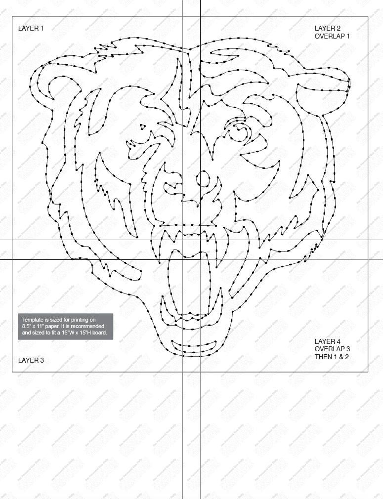Pin On String Art Templates