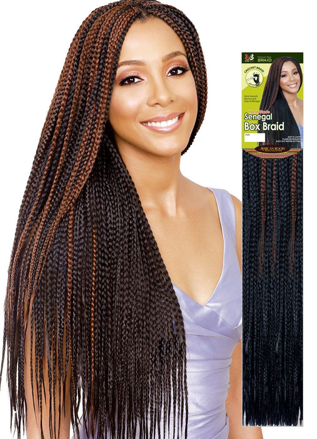 Bobbi Boss Hand Made Senegal Box Braid Hair Styles Long Hair