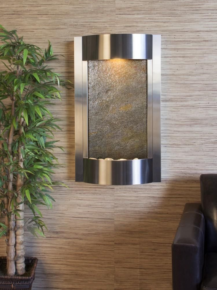 Adagio Serene Waters Wall Fountain Tabletop Fountain Indoor Wall Fountains Water Wall Fountain