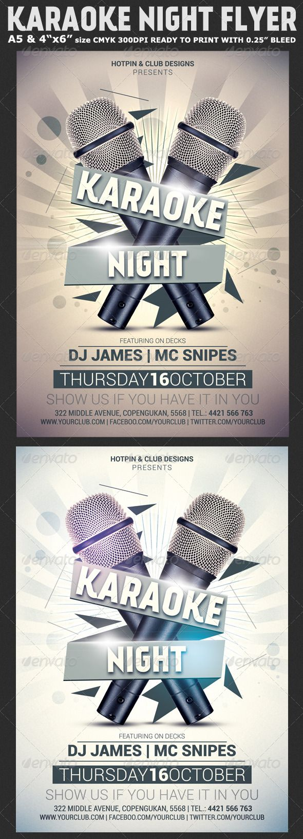 Karaoke Night Flyer Template  Advice Karaoke And Flyer Template